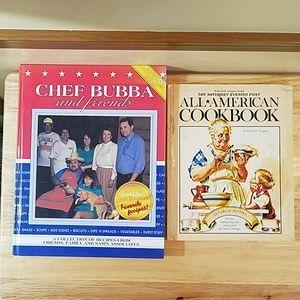 All-American Cookbook & Chef Bubba & Friends bundl